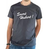 T-shirt OSS 117 Sacré Hubert gris