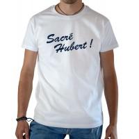 T-shirt OSS 117 Sacré Hubert blanc