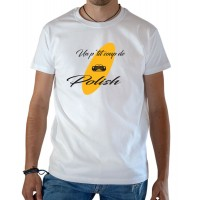 T-shirt OSS 117 un petit coup de polish blanc