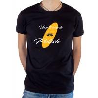 T-shirt OSS 117 un petit coup de polish noir
