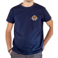 T-shirt OSS 117 SCEP logo bleu