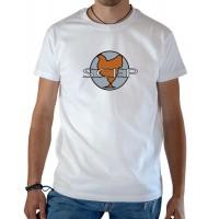 T-shirt OSS 117 SCEP blanc