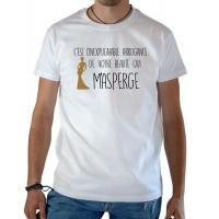 T-shirt OSS 117 l'arrogance de votre beauté blanc