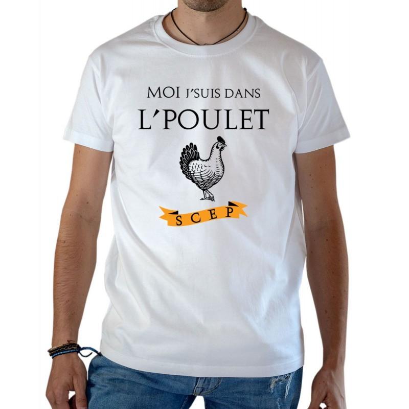 T-shirt OSS 117 Moi j'suis dans le poulet SCEP