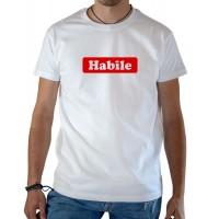 T-shirt OSS 117 Habile blanc