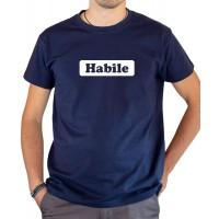 T-shirt OSS 117 Habile bleu