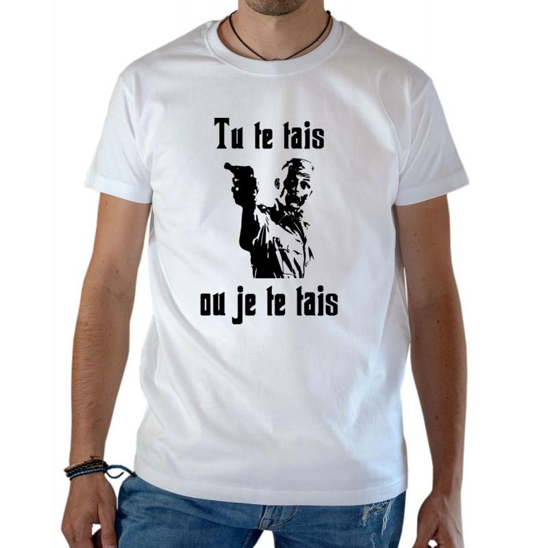 T-shirt OSS 117 tu te tais ou je te tais Gerhard Moeller