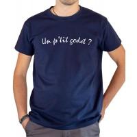 T-shirt OSS 117 Un petit godet bleu