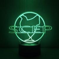 Lampe oss 117 SCEP Société Cairote d'Elevage de Poulets