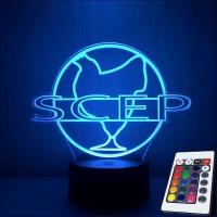 Lampe oss 117 SCEP Société Cairote d'Elevage de Poulets télécommande