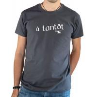 T-shirt OSS 117 à tantôt gris